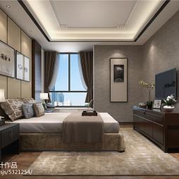 梵舍设计:一个时尚简中式住宅设计_2094659
