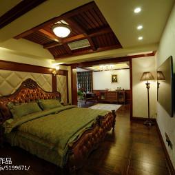美式卧室别墅设计