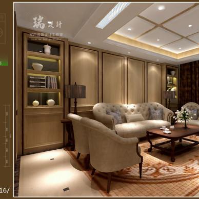 一套家装设计方案效果图_2095724