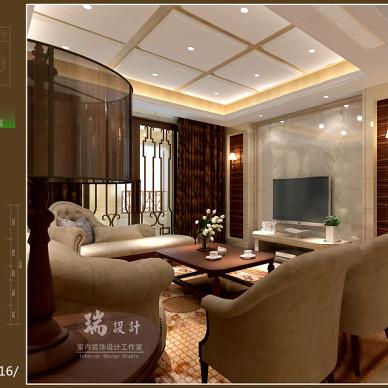 一套家装设计方案效果图_2095725