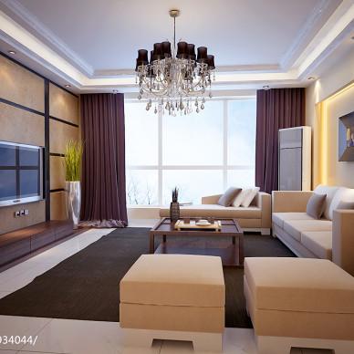 中式简约,156,电视墙旁边有门的经典设计_2100782
