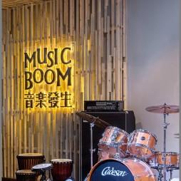 乐器专卖店演奏区效果图