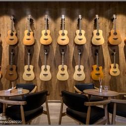 乐器专卖店设计效果图