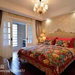欧式卧室背景墙效果图大全