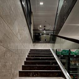现代风格中餐厅楼梯设计