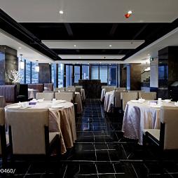 现代风格中餐厅吊顶设计