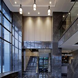 现代风格中餐厅楼梯装修设计