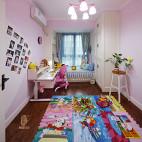 粉色混搭风格儿童房装修设计