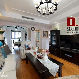 美式客厅家具效果图