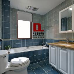 美式卫生间窗户装修设计