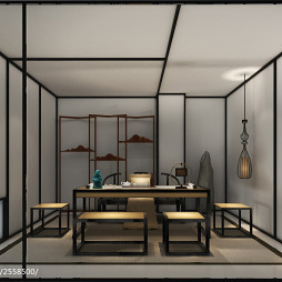 新中式接待室设计