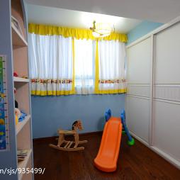 美式乡村儿童房装修设计