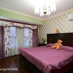 美式乡村卧室装修设计
