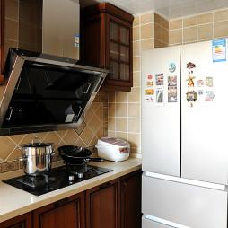 小户型简约美式厨房设计