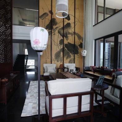 湖南邵阳现代中式样板间室内设计_2112491