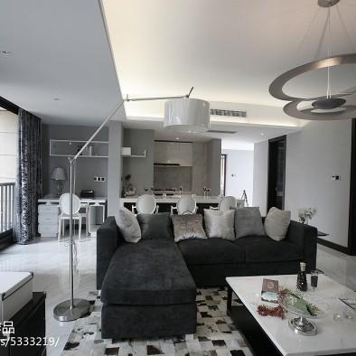 陕西西安现代风格样板间室内设计_2112507
