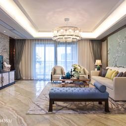 中西混搭风格客厅设计