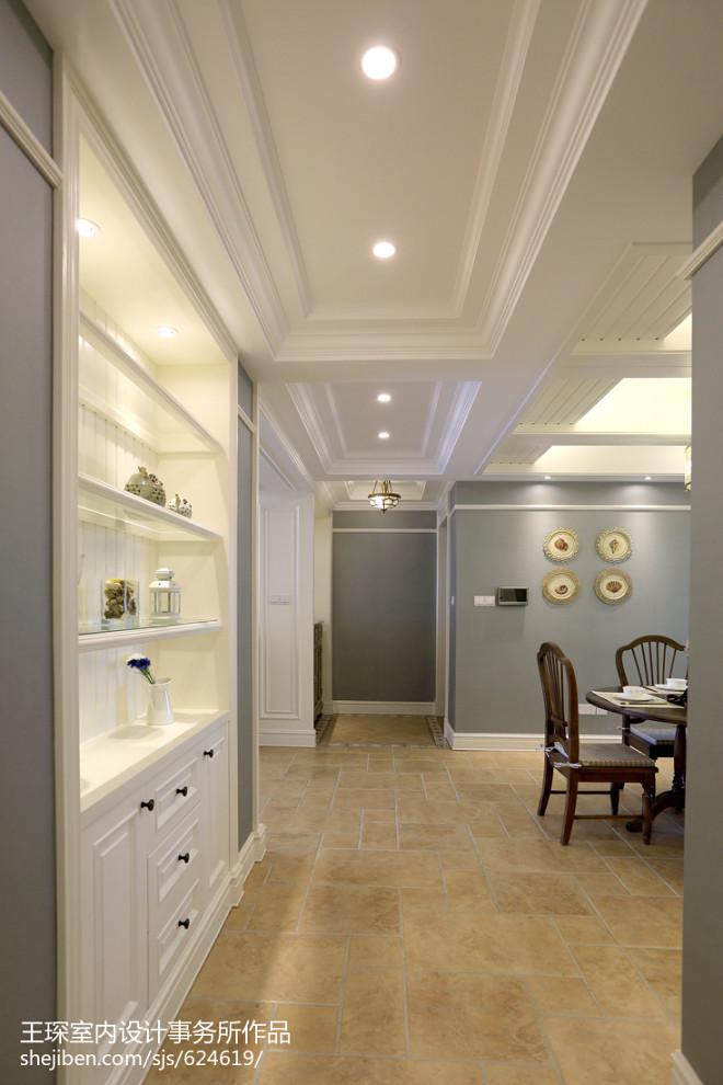 三居室美式过道设计