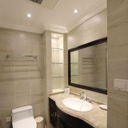 三居室美式卫生间设计