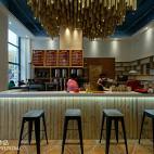 现代时尚LOFT咖啡厅室内设计