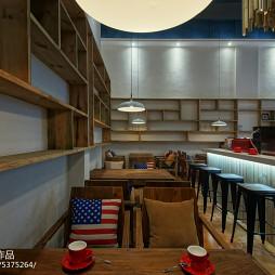 现代时尚LOFT咖啡厅设计图片大全