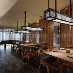 餐厅隔断设计