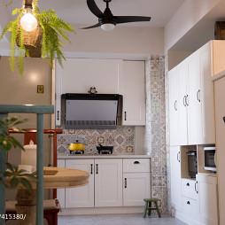 小户型混搭厨房设计图片大全欣赏