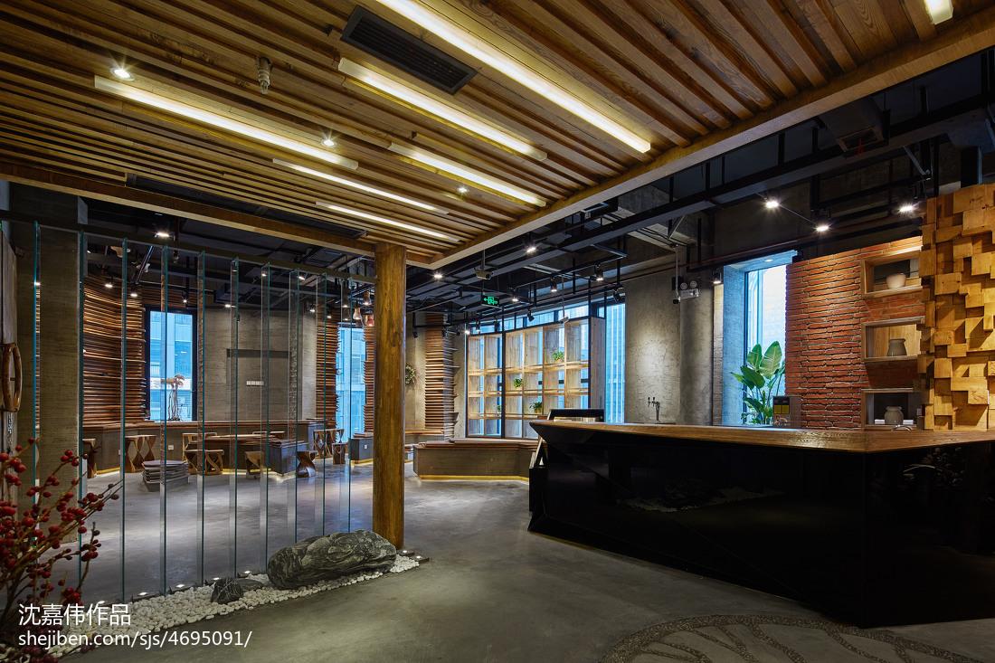 火锅餐饮店柜台设计