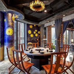 火锅餐饮店室内设计