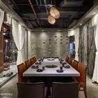 火锅餐饮店包间设计