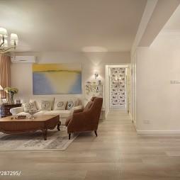 简约美式客厅装修图