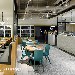 工装汉堡店设计