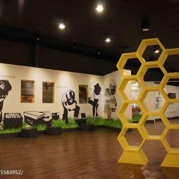 养蜂人家蜂采馆展览空间设计效果图片欣赏