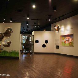 养蜂人家蜂采馆展览空间设计效果图片