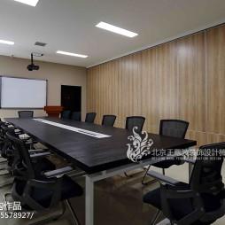 办公空间会议室装修效果图