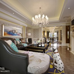 欧式家装格调客厅设计