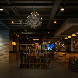 深圳全蒸教海鲜音乐餐厅吊顶设计