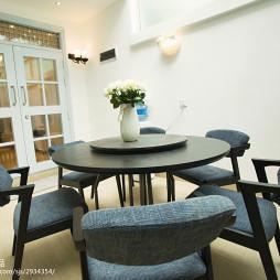 三居室北欧餐厅装修效果图大全