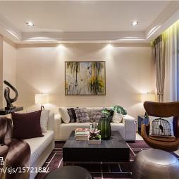 私人別墅現代客廳裝修效果圖