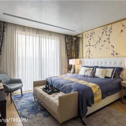 别墅中式卧室装修设计