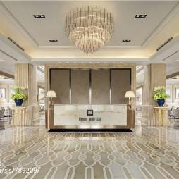 法式售楼处大厅设计