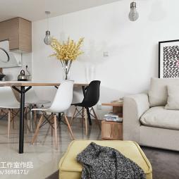 家装现代风格餐厅设计图片