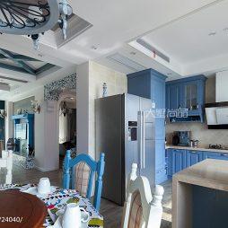 170㎡地中海风格厨房装修图片