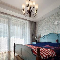 170㎡地中海风格卧室装修图片