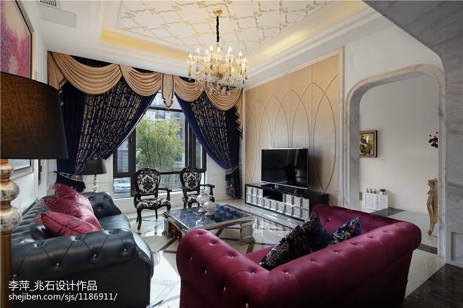 新古典别墅客厅装修图片汇总