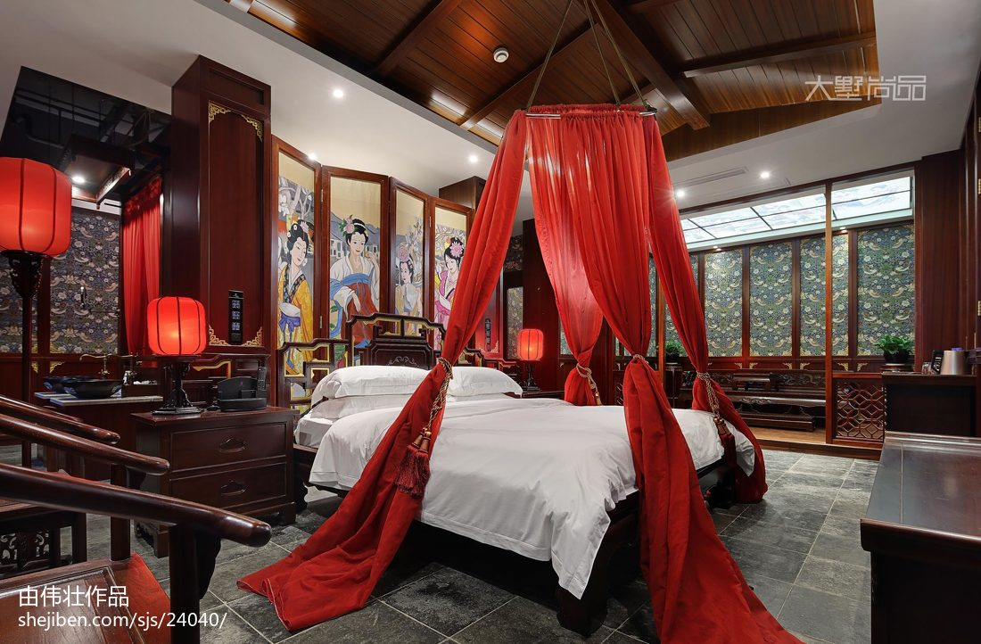 4500㎡现代风创意酒店主题房设计