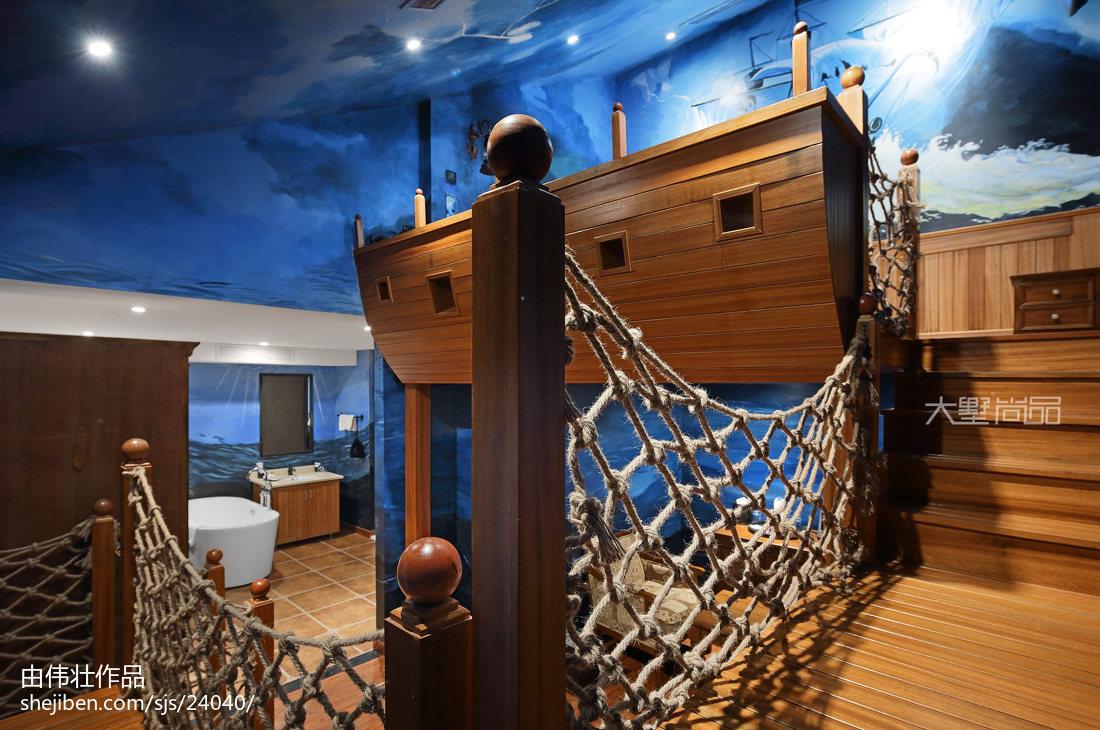 创意酒店海洋主题主题间设计
