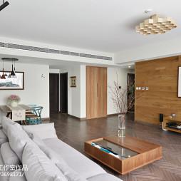 2017现代客厅装修效果图大全