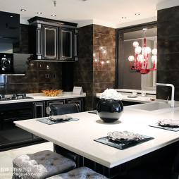 家装现代风格厨房装修效果图