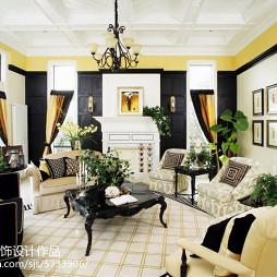 歐式家裝格調客廳裝修圖